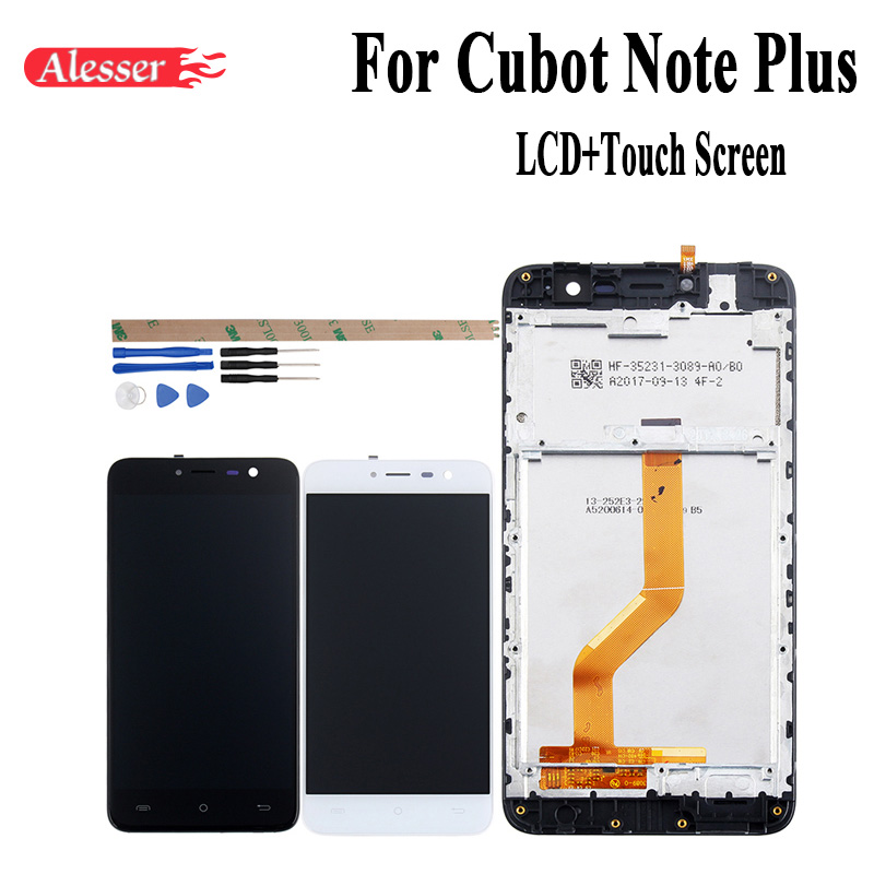 Alesser For Cubot Note Plus LCD Display And Touch Screen With Frame 5 2 Inch Replacement