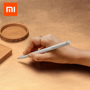 Image 2 - Original Xiaomi PU Leather Cover 160 Pages Notebook Mi diary planner hardcover mijia metal sign refill For xiaomi smart home