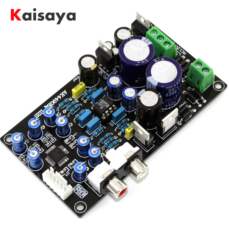 Ultimate AK4495SEQ II2S DAC decoder board (upgraded version