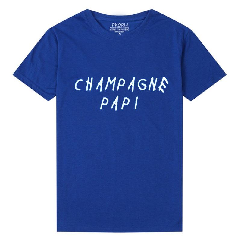 Mami For Letters Papi Girls Pkorli Pritned Men Tops Shirt Tee Harajuku Drake Women T Champagne T-shirt Funny Tumblr