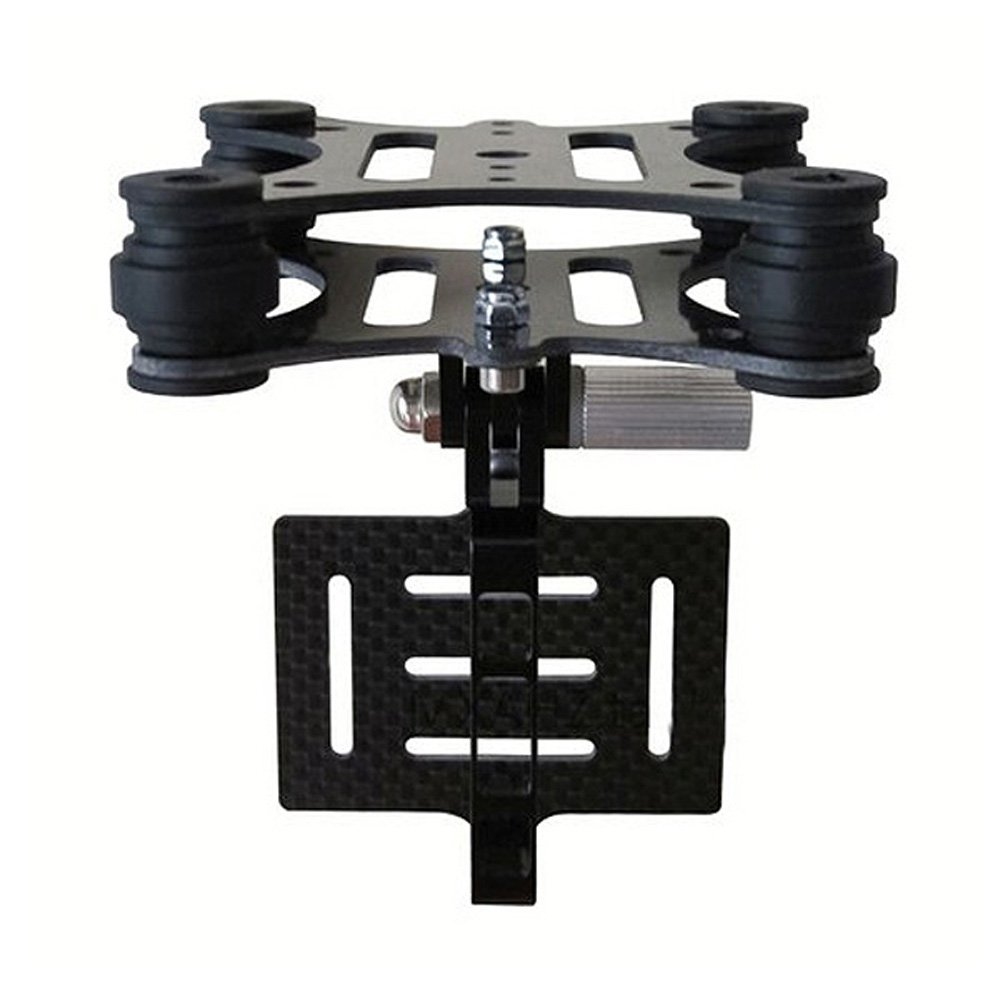 Anti-vibration Camera Mount Gimbal for DJI Phantom Walkera Qr X350 go pro Hero 3 3+ ...