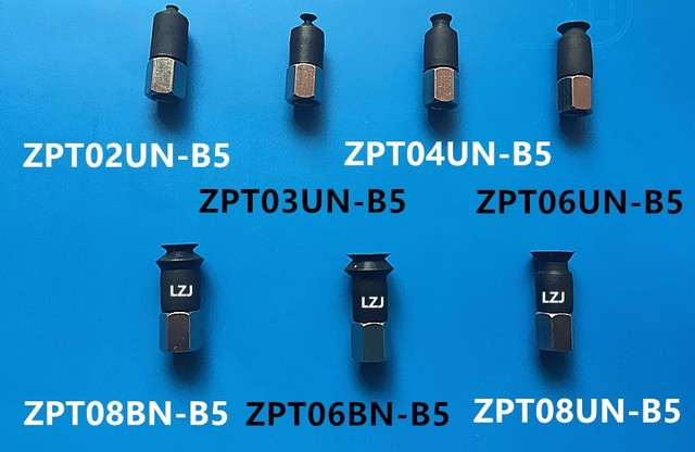 High Quality Vacuum Components ZPT08BN B5 Pad Vertical Entry Bellows NBR Smc Type