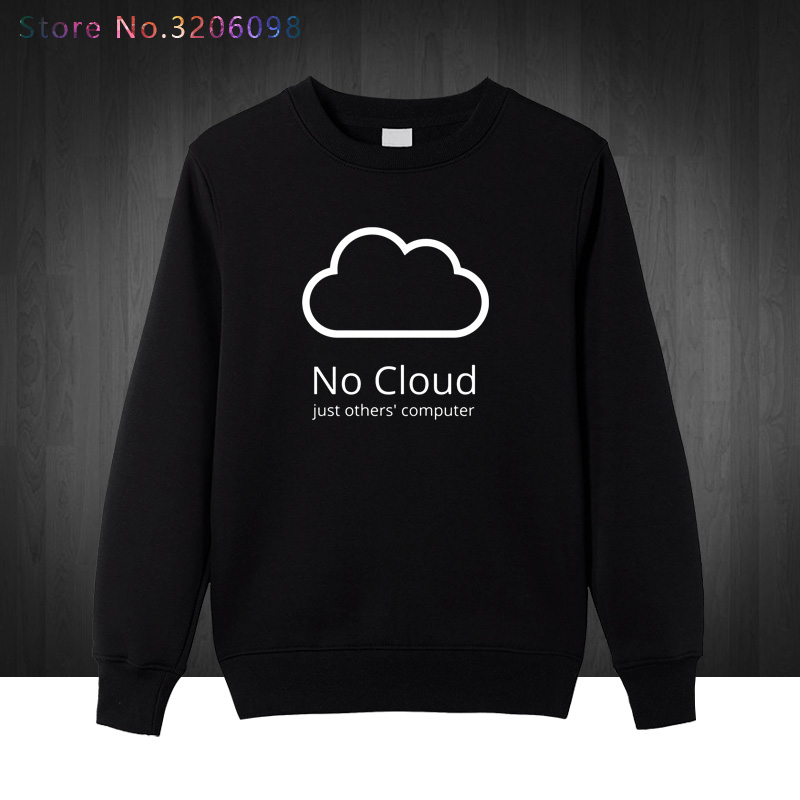 Computer Cloud pullover Creative Man Cotton winter autumn Style sweatshirts New Casual Funny Geeks hoodies men sweatshirt Boys
