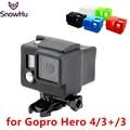 Gopro Acessórios de 4 Opções de Cores de Silicone Dustproof Caso Capa Protetora Da Pele para go pro hd hero 4 3 + 3 gp98 frete grátis