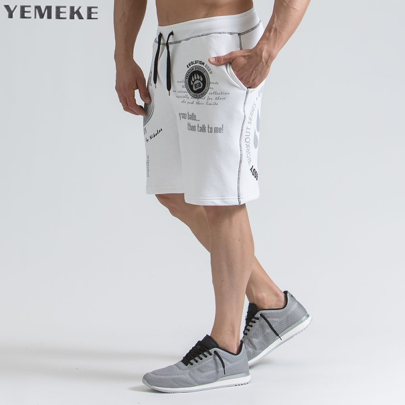Summer Shorts Mens Bermuda 2018 Summer MAN Beach Hot ports Solid Color Men Shorts Male Brand MenS Short Casual Fitness XXL ...