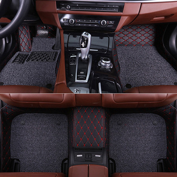 SUNNY FOX Car floor mats for Mazda 6 Atenza Mazda 3 2 8 CX5 CX-5 CX7 CX-7 5D car-styling carpet rugs floor liners image