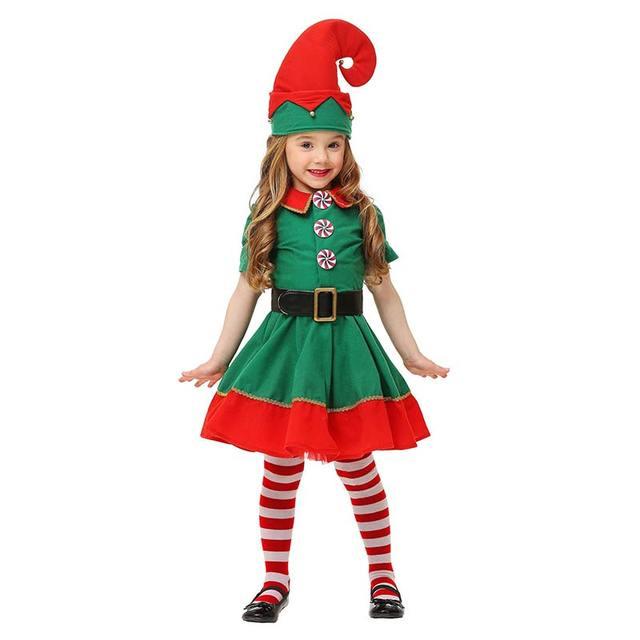 Kleinkind Urlaub Elf Kostüm Nette Halloween Kostüm Kurzen Ärmeln ...