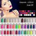 1 unids Empapa de Polaco Del Gel UV LED Esmalte de Uñas de Gel 156 colores Efecto Gel Bluesky Laca (color121-150)