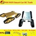Oficial DOIT T900 4WD Metal robot Wall-e Tanque Oruga Plataforma Crawler Chasis de Orugas Vehículo Móvil Walee DIY juguete