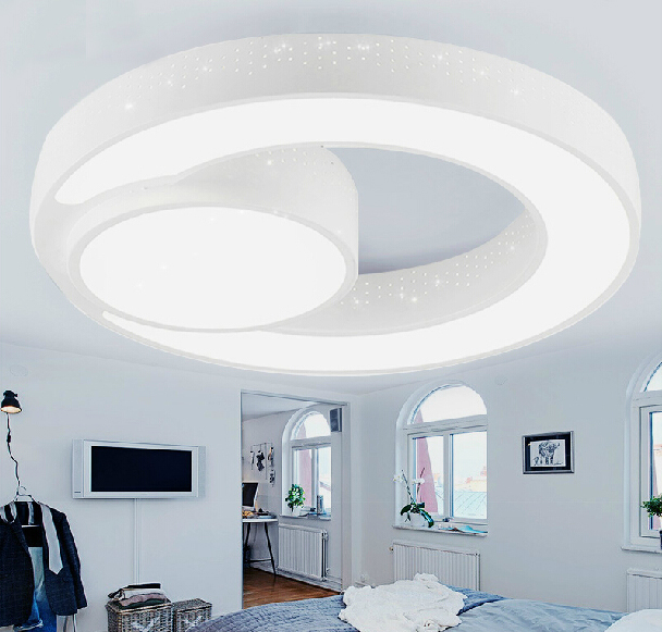 Buy new design 48w iron led ceiling light for Modern living room ceiling lights