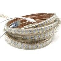 LED Tiras Luz 180led/m 220 v brilhante Super SMD 2835 Fila Dupla Quente Branco Frio à prova d' água + Power ficha Do Hotel Iluminação do Edifício|Tiras de LED| |  -