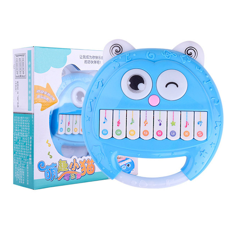 2018 Educational Toys Baby Rattles Smiley Plastic Hand Shake Bell Ring Musical Early Educational luminous Toy for Kids Xm40 ...