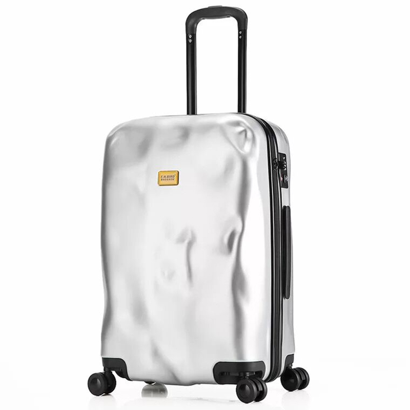 Italy Crash Luggage Bag Original Rolling Suitcase Men Boarding Trolley Luggage Women Travel Luggage 20/24/28 Inch Carry-ons Luggage & Bags