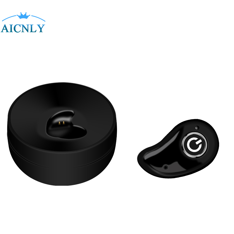 TWS Bluetooth Headset Earbuds 4.2 True Wireless Mini Stereo Earphone with Charging Socket play music for xiomi Bluedio phone