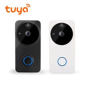 Batería Tuya, intercomunicador inalámbrico, sistema biométrico, Alarma, vídeo, timbre de puerta, cámara 4G