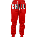 Netflix and Chill Joggers Women Casual Pants Men Unisex Jogger Sweatpants Full Length 3d Printed Trousers Fashion Clothing