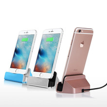 New Desktop Charger Dock Station USB Sync Adapter Mobile Smart Phone Charging Device For Apple iPhone 5 5S SE 6 6S 7 Plus