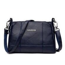 High Quality Vintage Leather Women Tote Handbags Women Messenger Bags Fashion Female Shoulder Bag Crossbody Bag