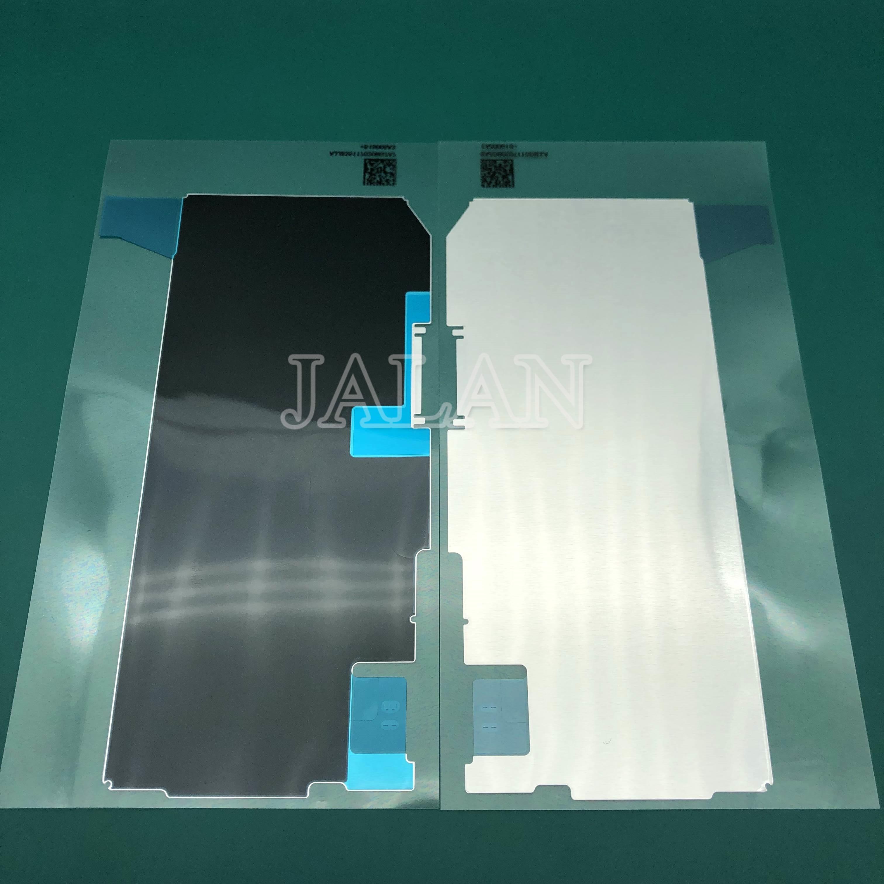 Jalan 10 Buah Hitam Film untuk iPhone X 10 X Max Baterai Isolasi Termal dengan Fungsi Tahan Air untuk iPhone Touch layar