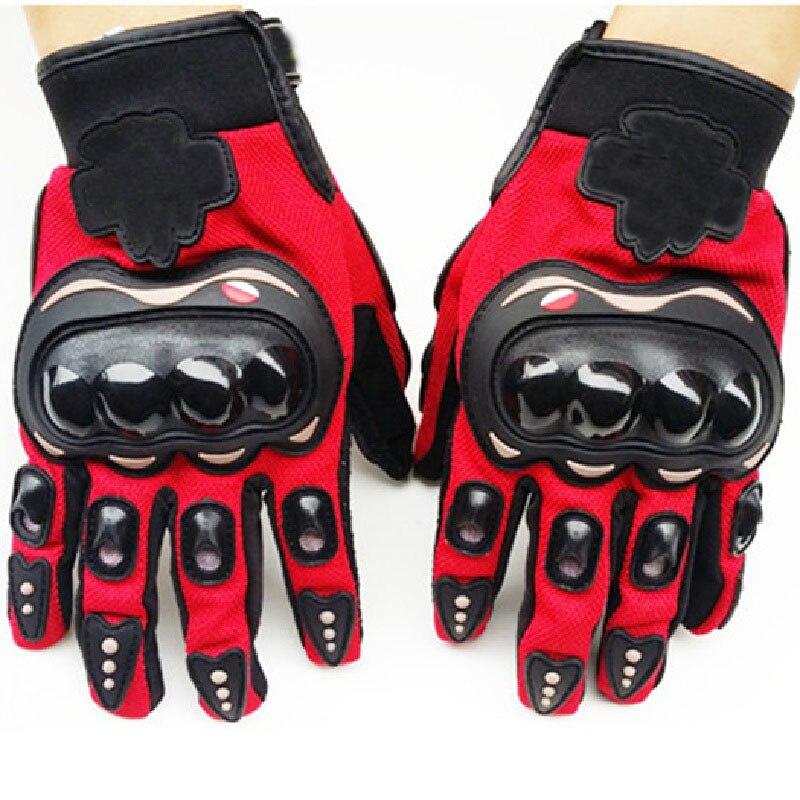 Bicycle Motorcycle Motorbike Gloves Alloy Steel Powersports Racing Gloves Real Leather Glove Waterproof Racing Moto Guantes