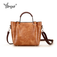 YBYT Brand 2018 New Women Satchels Vintage Casual Composite Totes Female Top Handle Bag Ladies Shoulder