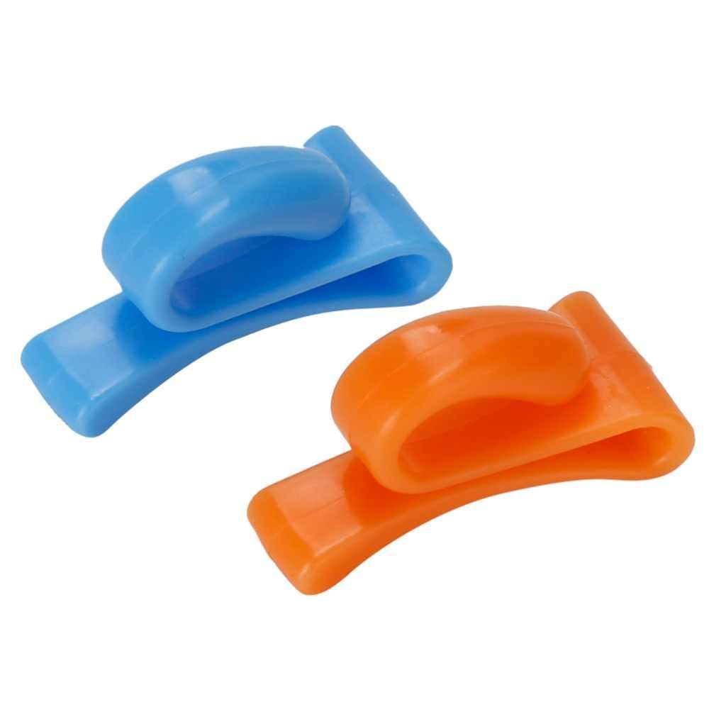 2 uds. Diseño creativo encuentra fácilmente las llaves en el bolso ganchos para bolsas bolsa sostenedor de la llave de suspensión Clip de llave portátil para bolsa