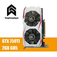 Original Graphics Card GTX 750TI 2048MB 2GB 128bit GDDR5 Placa De Video Carte Graphique Video Card