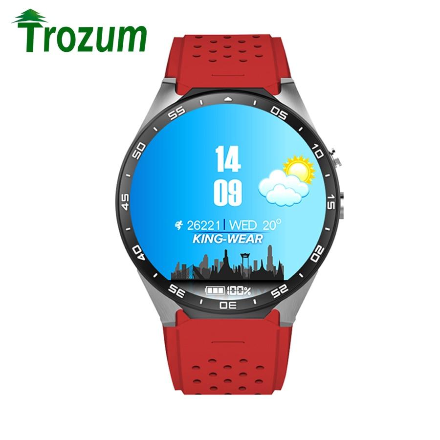 TROZUM KW88 MTK6580 Reloj Smartwatch Android 5.1 Bluetooth Reloj Inteligente 4.0