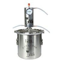 12L Moonshine Alcohol Distiller Kit Vodka Making Machine Home Brew Distillery Alcohol