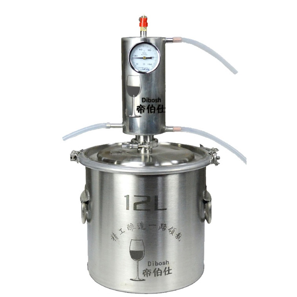 12L Moonshine distiller de l'alcool Kit Vodka Faisant La Machine Home Brew Distillerie D'alcool
