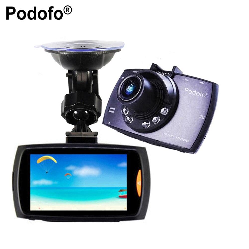 Podofo Car Dvr G30 2 7 Full HD 1080P Car Camera Recorder Motion Detection Night Vision