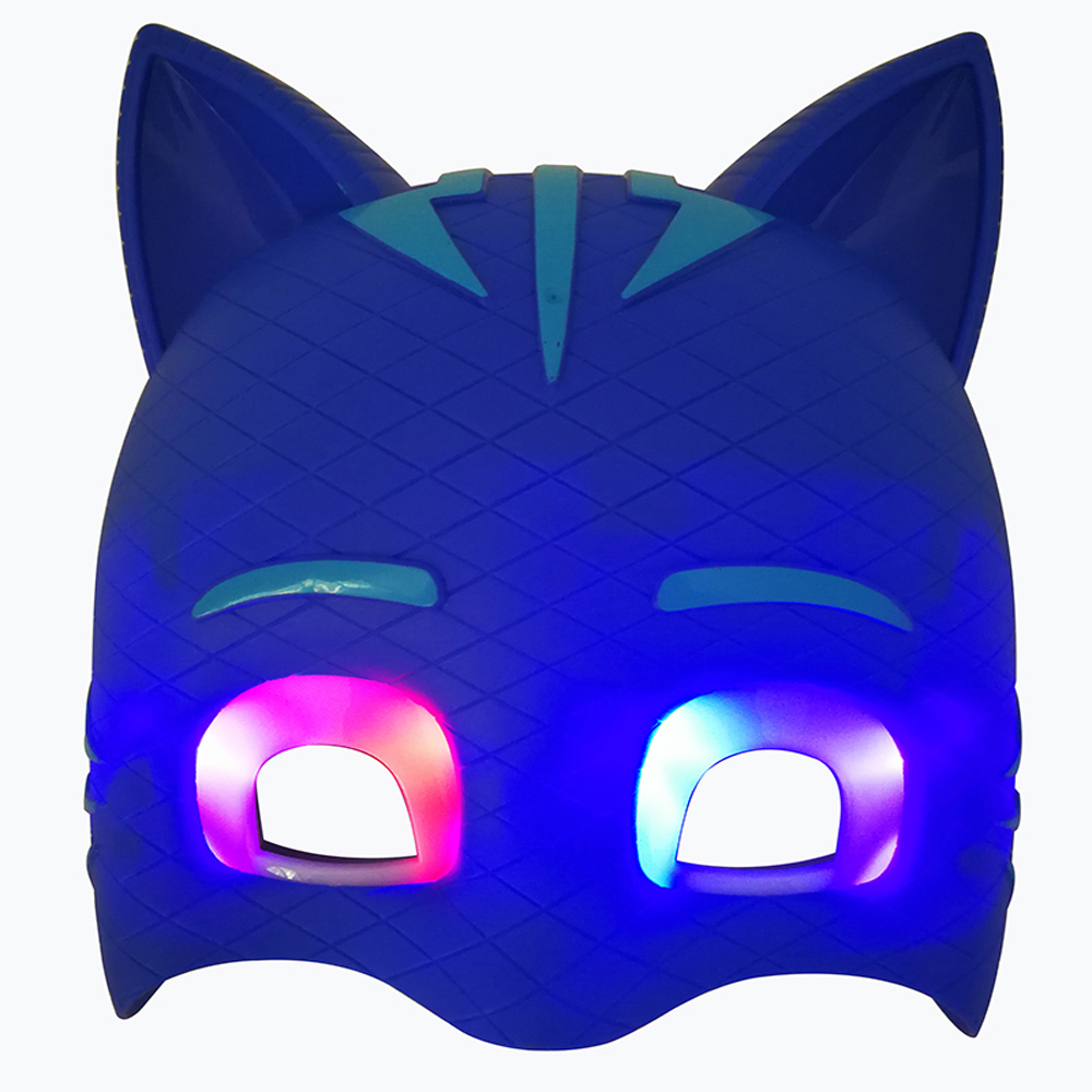в наличии пиджей Сид мультфильм маска символ catboy луна девушки гекко маска подарок игрушка для Хэллоуин день рождения фестиваль