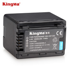 Kingma vw-vbt380 vbt380 vw-vbt19 vbt190 batería para panasonic hc-v270, HC-V380, HC-V510, HC-V520, HC-V550, HC-V700, HC-V710.