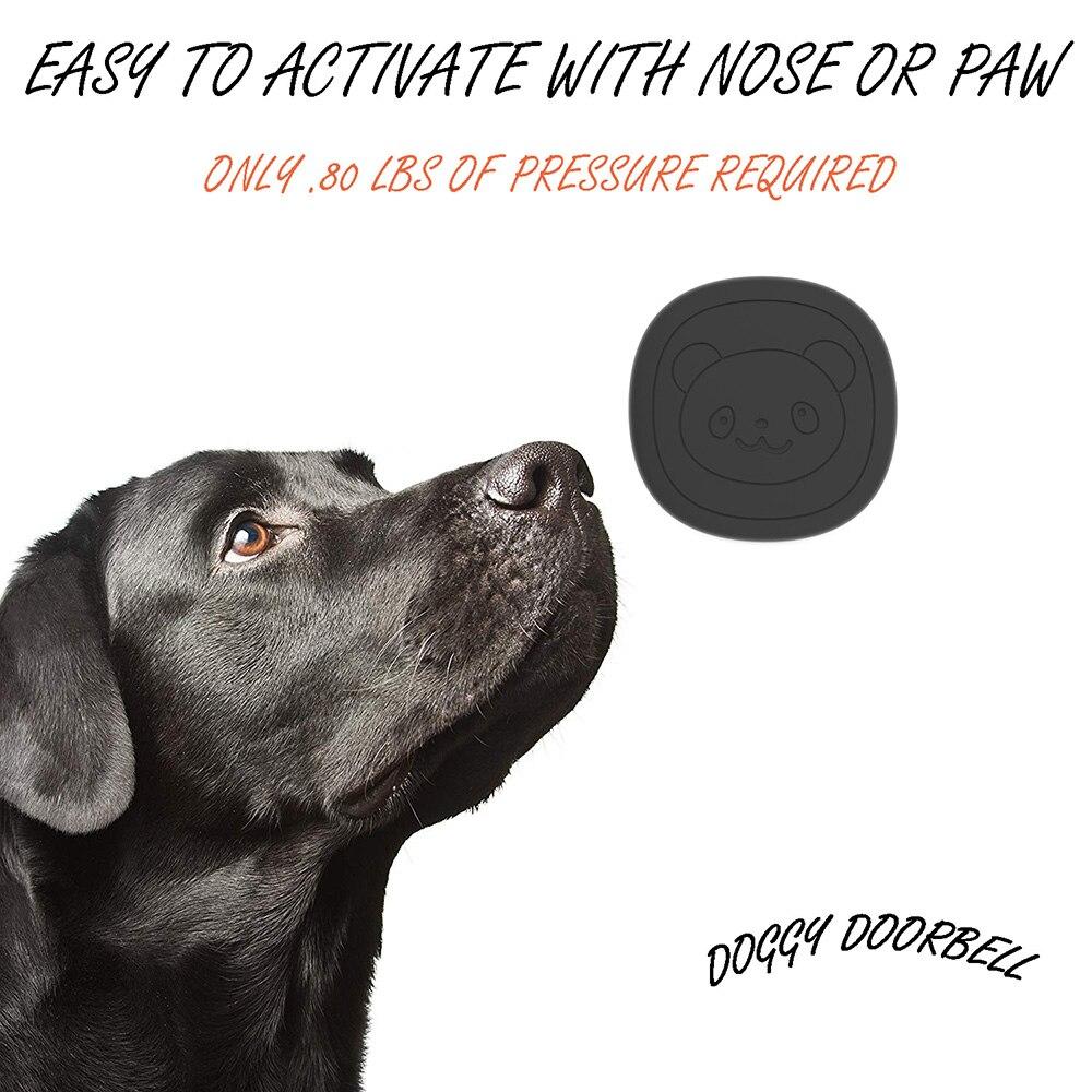 Pet Dog Training Doorbells  Wireless Door Bell Multifunction Sensor  Bell Training Tool-1