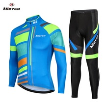MIEYCO Cycling Jersey Sets Breathable Mountain Bike Clothes MTB roupa ciclismo Long Sleeve Bicycle Clothing Man