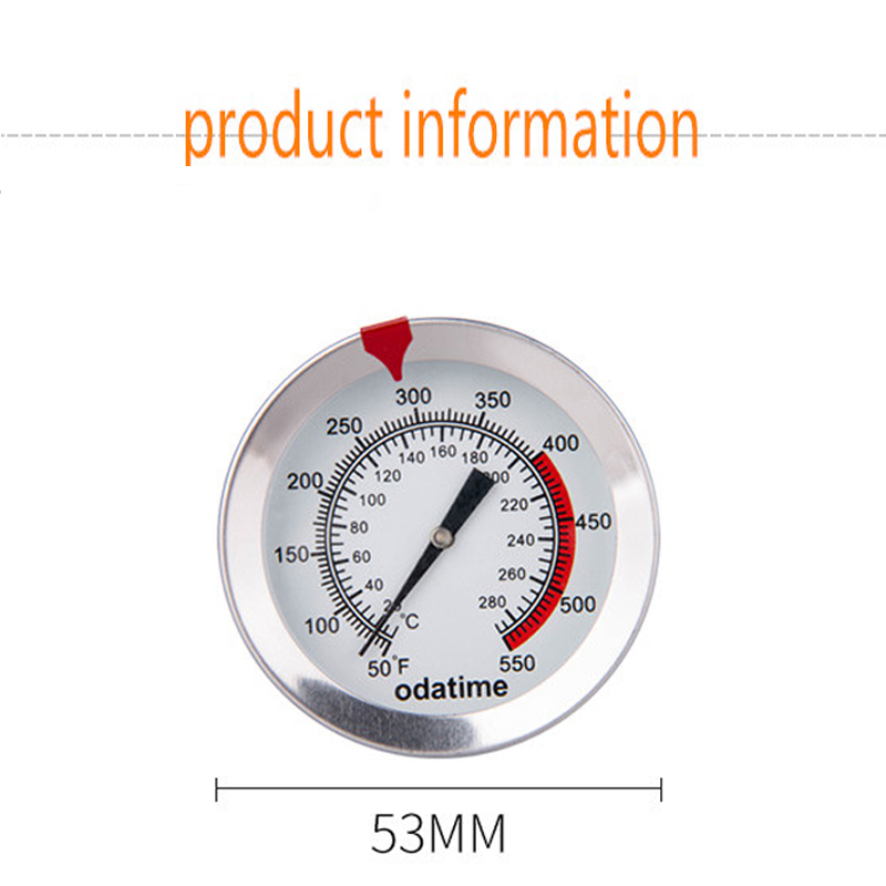 Odatime Food Thermometer made of Stainless Steel with Clamp for Accurate Temperature Measurement in Seconds 2