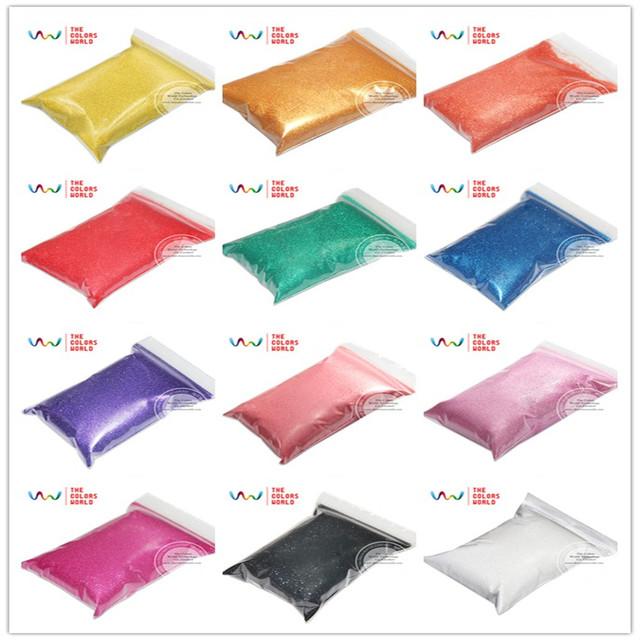 Tcpt-001 12 nacarado colores 0.2 MM 008 tamaño resistente a los disolventes del brillo de uñas esmalte de uñas de gel u otro arte decoración