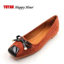 Frühling Sommer und Schuhe der dicken weichen eleganten und komfortablen flache Schuhe Frauen