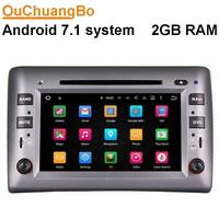 Ouchuangbo Android 7 1 Car Dvd Gps Radio For Fiat Stilo 2002 2010 Support 3G Wifi