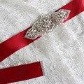 XW49 Accesorios Vestido de Novia Accesorios Originales Manual Puro Diamante Correa Del Sello de Comercio Exterior de Alta gama de Productos de la Competencia