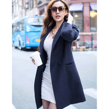 f5f6ed57604 Top Quality Winter Jacket Women Wool Coat 2016 Fashion Slim Outwear Cloak  Woolen Warm Blends Coats