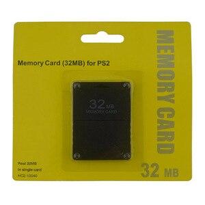 Image 2 - Xunbeifang 10 pcs 많은 8 16 32 64 ps2 용 소니 용 128 mb 메모리 카드