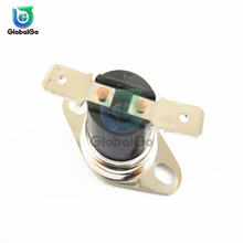 Thermostat Sensor Switch NC Normally Open Temperature Thermal Control Switches 30-130 Celsius 10A 250V On-Off Light