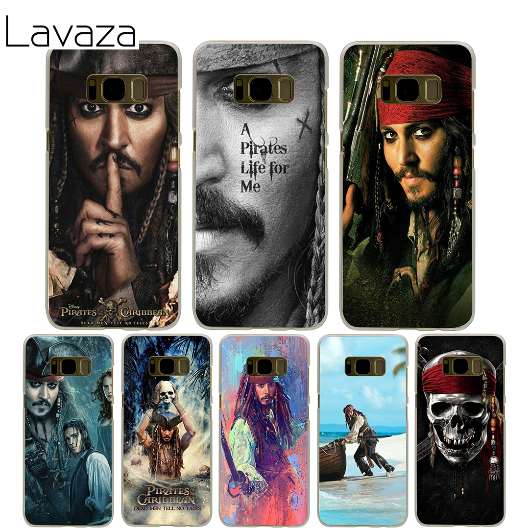 Lavaza Pirates Of The Caribbean Cover Case for Samsung Galaxy S7 Edge S6 S8 S9 Edge Plus S5 S4 S3 Mini S2 Cases Shell