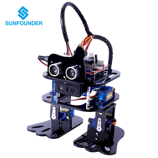 Aliexpress buy sunfounder diy dof robot kit sloth