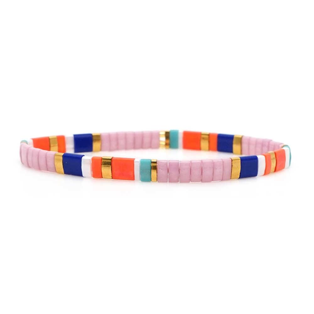 Shinus Miyuki Bracelet For Women Bohemian Summer Beach 2019 New Jewelry Bracelets 5pcs/Lot Fashion Pulseras Japan Tila Beads