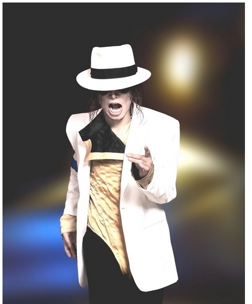 Details about  /MJ Cosplay Hats Adult Smooth Criminal Dangerous Fedora Woolen Hat White