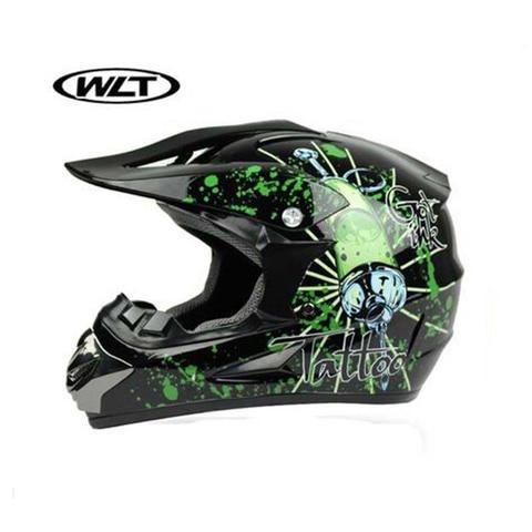 WLT Off Road Racing Motorcycle Helmet Men ATV Dirt Bike Motorbike Motocross Helmets Moto Motor MTB DH Downhill Helmet Lahore