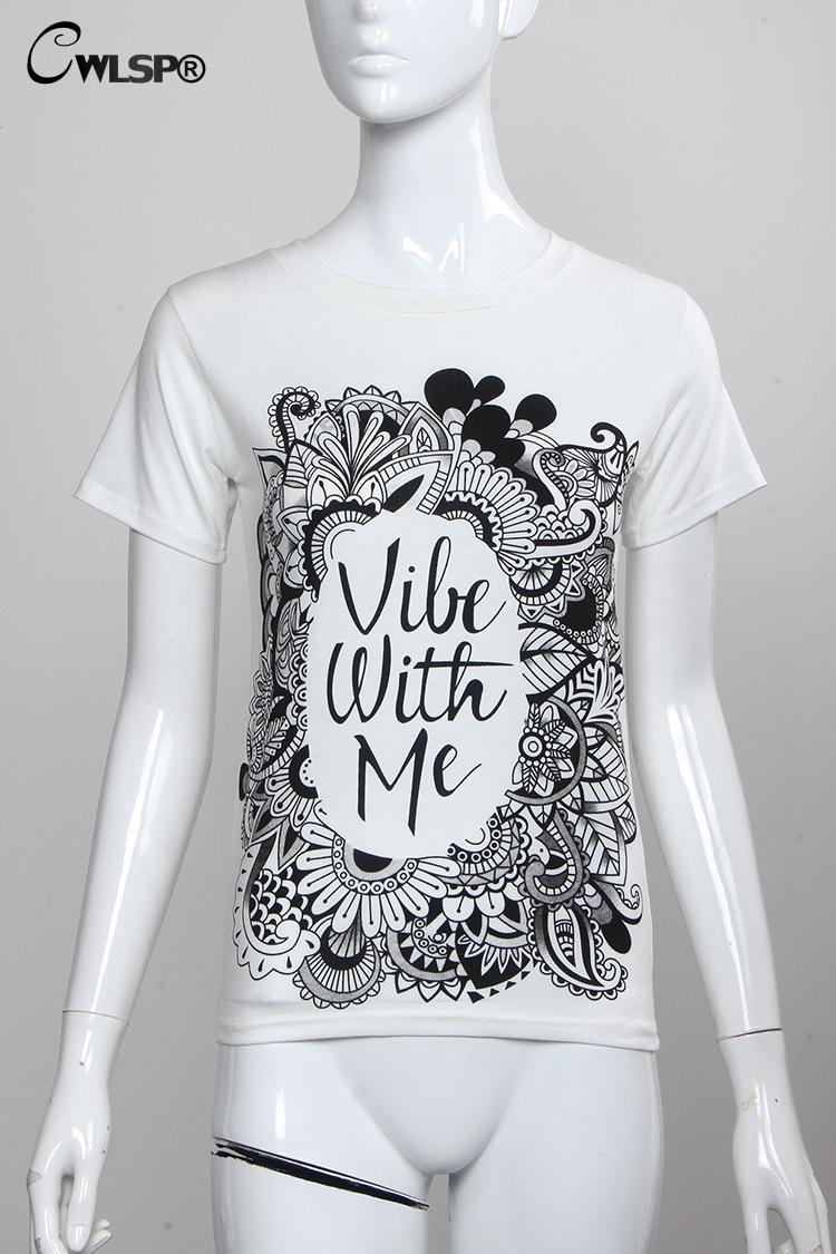 HTB16fP6KXXXXXcfXVXXq6xXFXXXm - Summer Colorful Printed T shirt Women Fashion Letter Short Sleeve