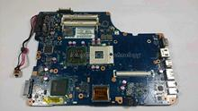 HOLYTIME laptop Motherboard For Toshiba Satellite L550D K000083110 KSWAA LA 4981P GL40 PM45 DDR2 integrated font